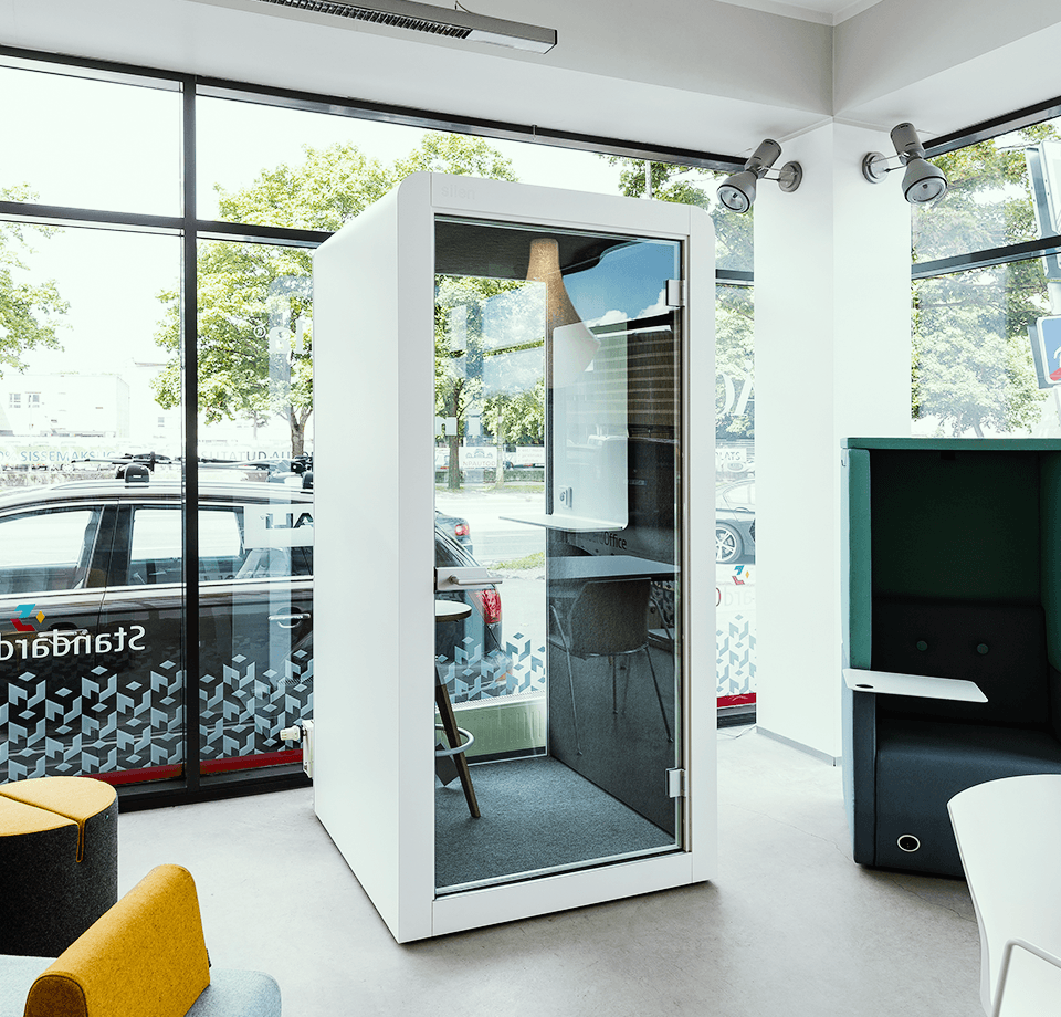 Privacy pod and phone booth